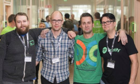 GeOHack3rs vinnare av Hack for Sweden Award 2016