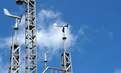 Weather monitoring stations