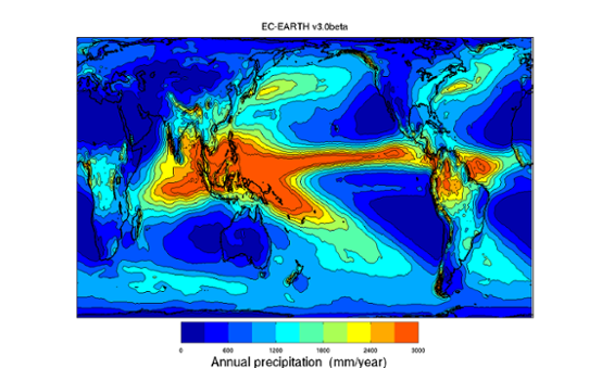 RCN2010, Precip, EC_EARTH, v3