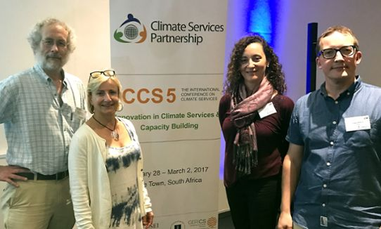 International meetings at climate services' conference
