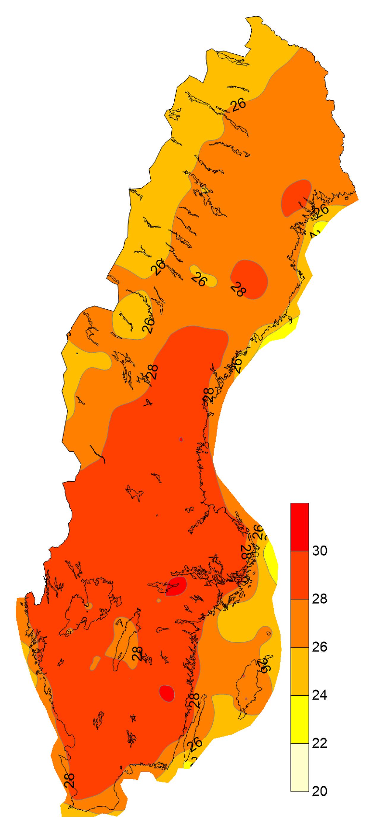 Värmebölja   SMHI