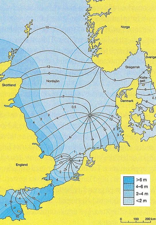 Karta Skane Och Danmark.Tidvatten Smhi