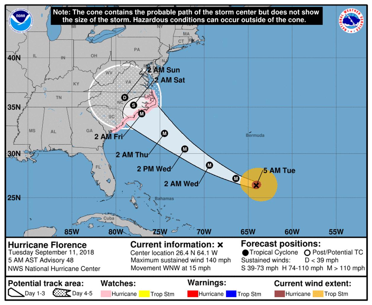 Karta Usa Sjoar.Orkanvarning For Ostra Usa Och Stormvarning For Hawaii Smhi