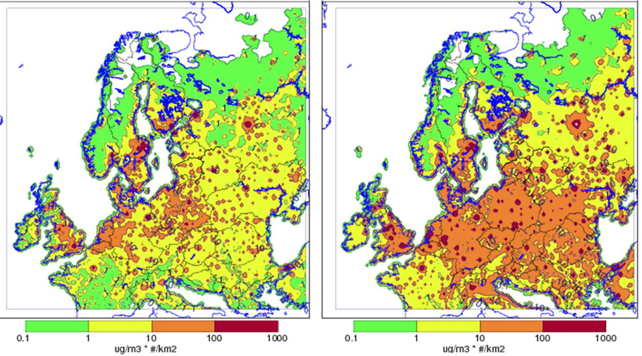 Karta Arlanda Inrikes.Sa Paverkas Luftmiljon Av Flygets Utslapp Smhi
