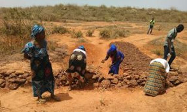 erosion prevention activities in Senegal