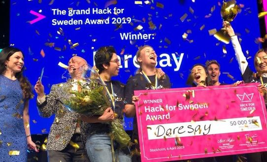 Team Daresay - Hack for Sweden 2019