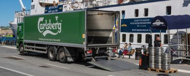 Carlsberg transport