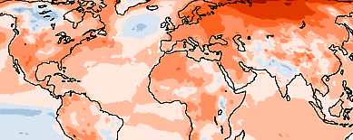 Global temp 2020 - Copernicus