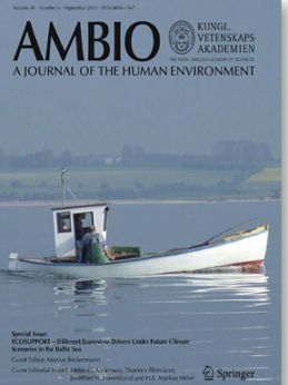 Special issue of AMBIO about ECOSUPPORT