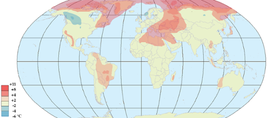 Global temperaturanomali i oktober 2012.