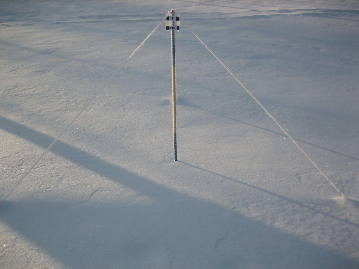 Hur mäts snödjup? | SMHI