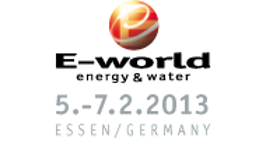 E-world 2013 logo