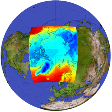 The Arctic is one example on regional climate modelling.