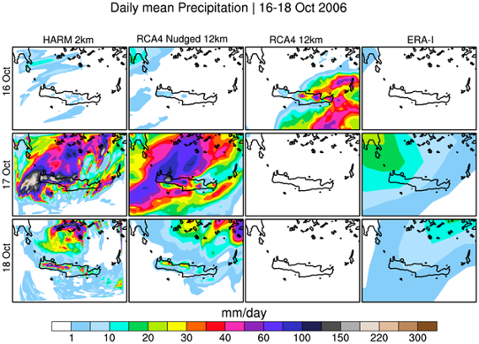 RC News Fig 3 Daily mean precipitation Crete