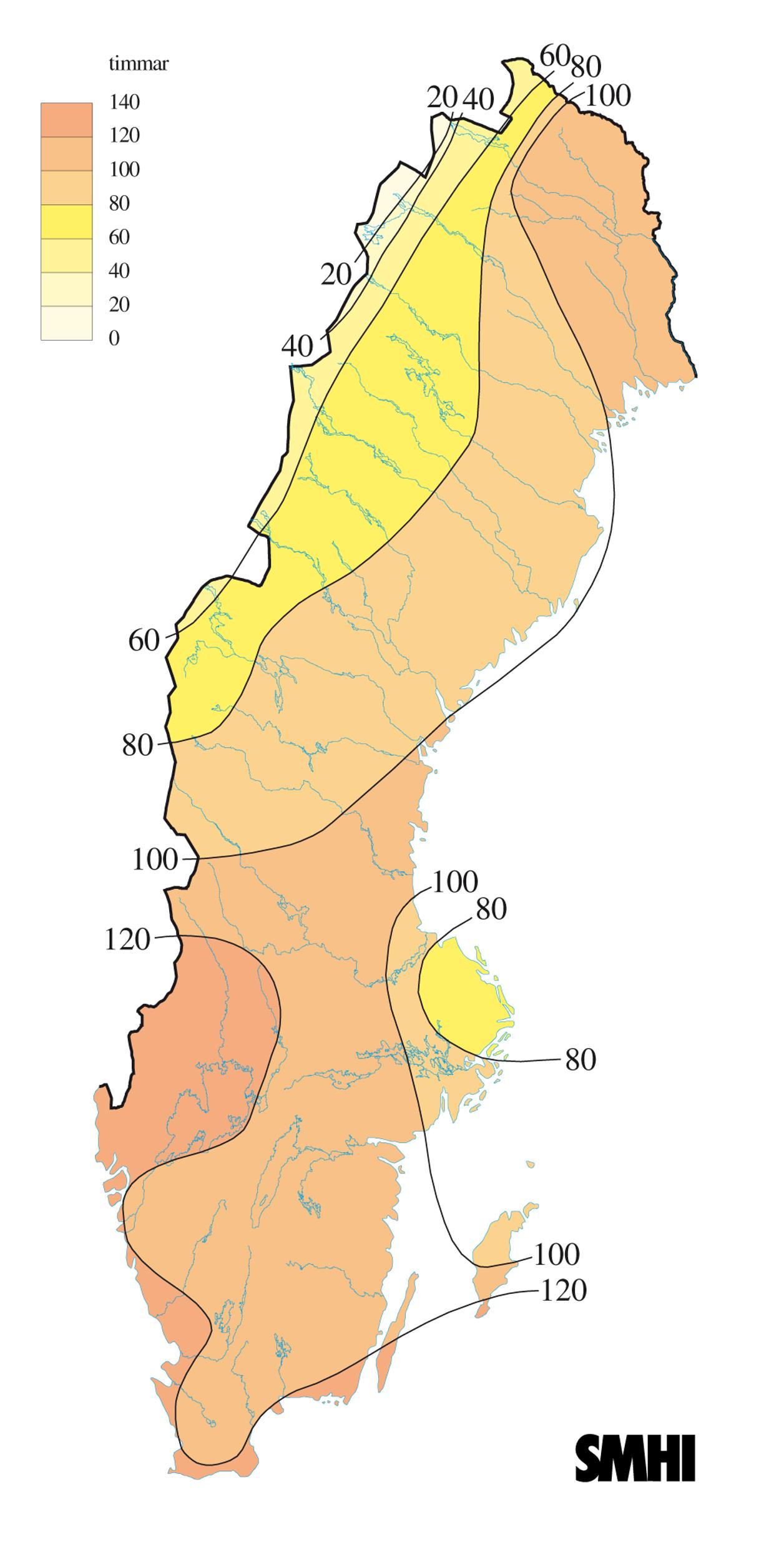 Stora snomangder i norra norrland