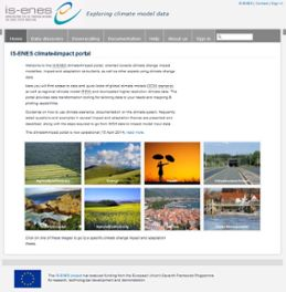 The web portal Climate4Impact.eu