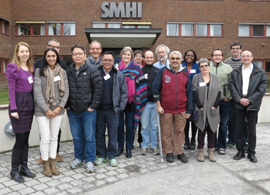 CORDEX Scientific Advisory Team at a meeting held in Norrköping