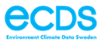 Logotyp Environment Climate Data Sweden - ECDS