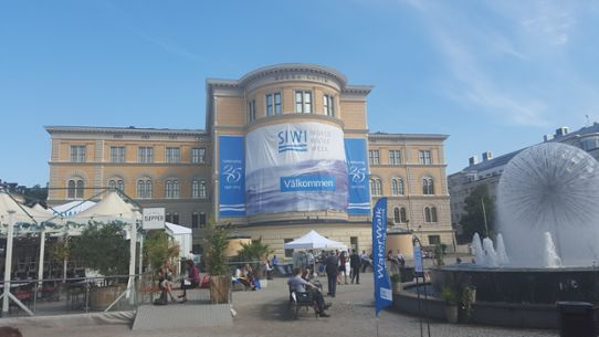 World Water Week i Stockholm 2015