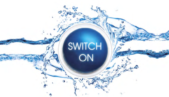 Switch-on logotype