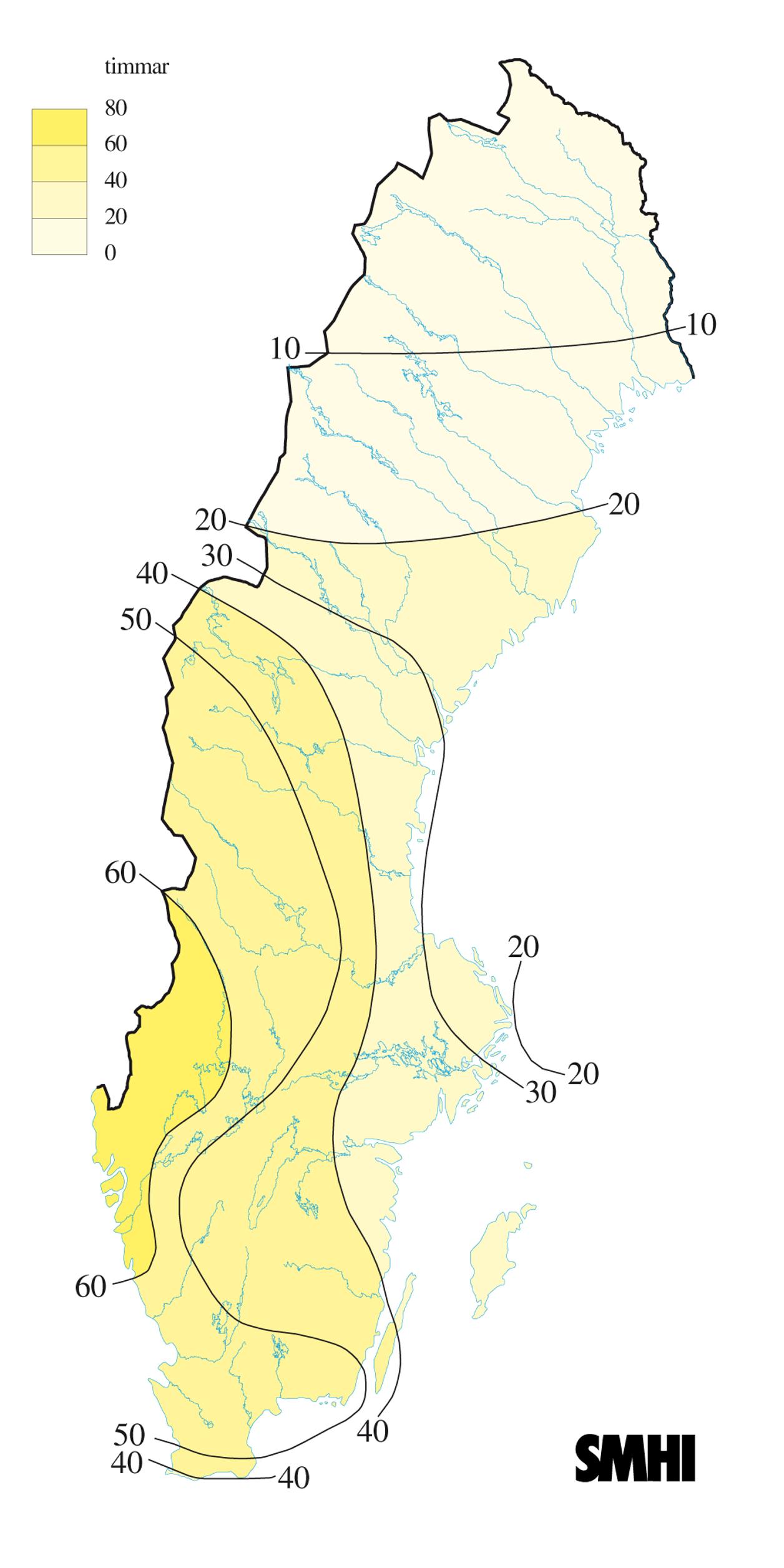 Januari 2010 Vinter med besked | SMHI